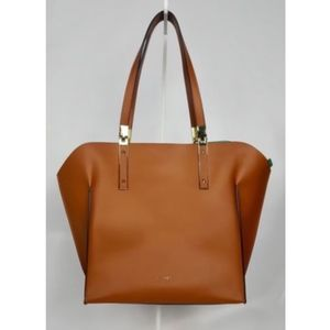 LODIS Blair Leather Lucia Travel Tote Handbag NEW